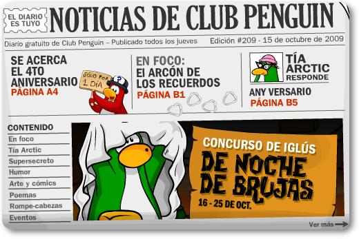 club penguin times 209 portada